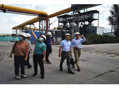 中国证监会内蒙古监管局领导视察公司