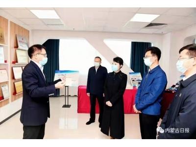 内蒙古自治区主席王莉霞到公司调研